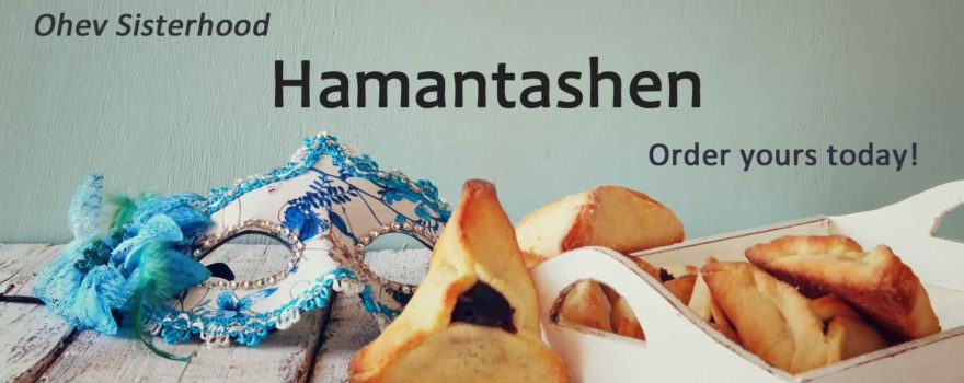 Ohev Sisterhood's Hamantashen